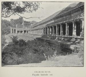 Façade d'Angkor-wat