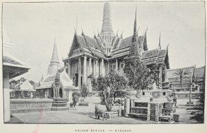 Pagode royale à Bangkok