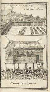 Habitations au royaume de Siam
