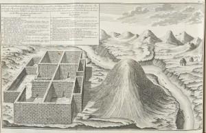Vue du palais des Incas