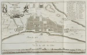 Plan de la ville de Callao