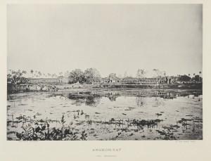 Vue générale d'Angkor-Vat