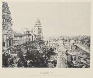 Vue d'Angkor-Vat