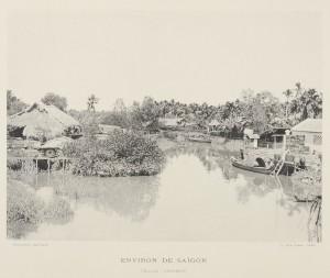 Village annamite