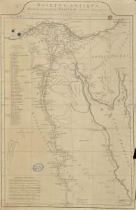 Carte de l'Ancienne Égypte
