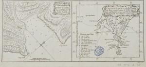 Plan de la Baye du bon succès dans le détroit de le Maire et de la partie Sud-Est de la Terre de Feu