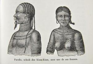 Portraits de Niam-Niam